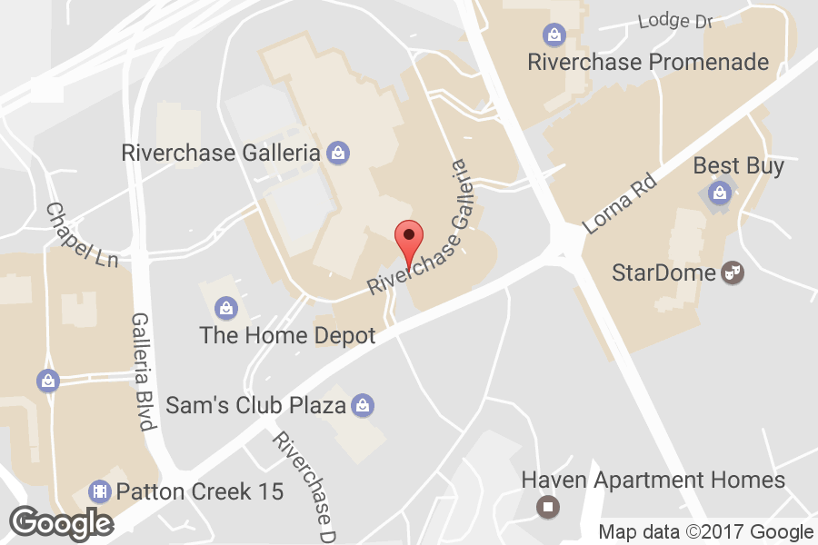 Map of Riverchase Galleria - Click to view in Google Maps
